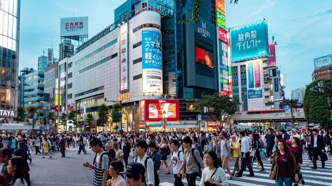 Япония регистрира за единадесета поредна година спад числеността на населението