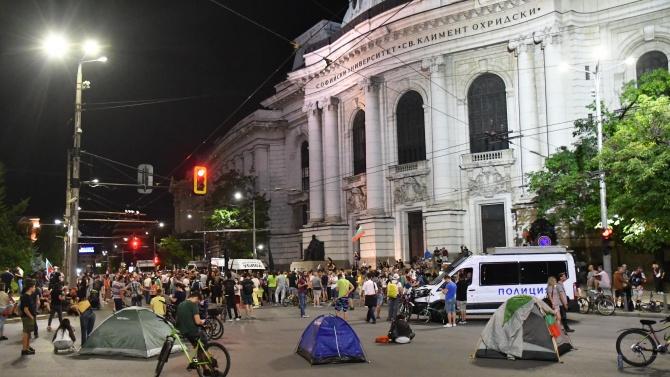 Продължава подписката срещу протеста и блокадите в София
