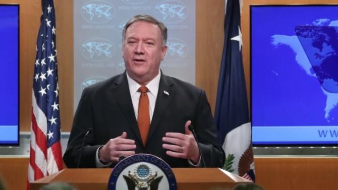 Държавният секретар на САЩ Майк Помпео започва обиколка в четири европейски страни