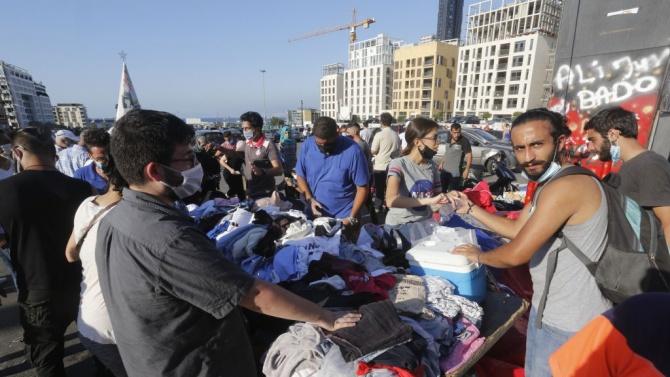 В Бейрут, пострадал от мощна експлозия на пристанището, тази сутрин