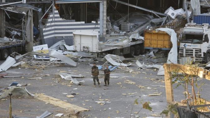 Германия предлага военна помощ на Ливан след взрива в Бейрут