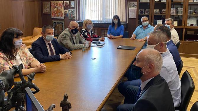Иван Гешев прие административните ръководители на Окръжните прокуратури от Апелативен район