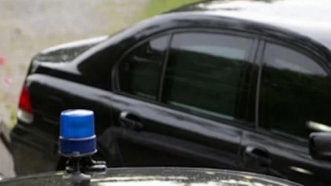 Инцидент с автомобил на НСО по пътя между Черноморец и Созопол