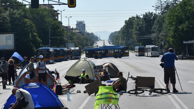 Един от задържаните протестиращи: Ще се върнем отново към блокадата