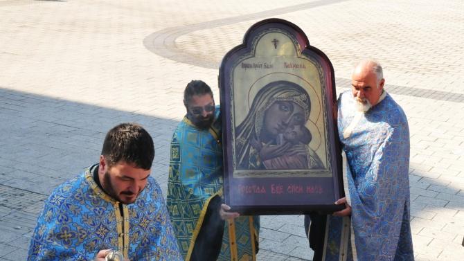 Чудотворната икона на Св. Богородица - Казанска ще бъде донесена за поклонение в Кюстендил