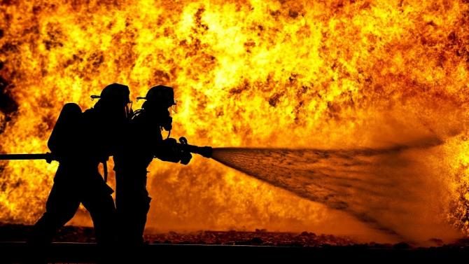 Бедствено положение в Хасково заради пожар