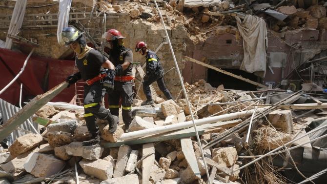 Повече от 60 души все още се водят като безследно изчезнали в Бейрут