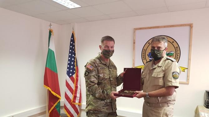 Началникът на отбраната адмирал Емил Ефтимов проведе днес, 8 август,