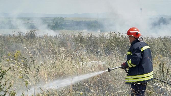 Обявено е бедствено положение в община Свиленград заради пожарите
