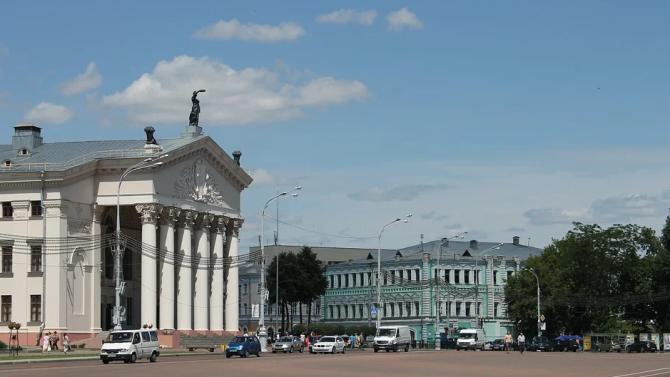 Мерките за сигурност в Минск, където днес се гласува за