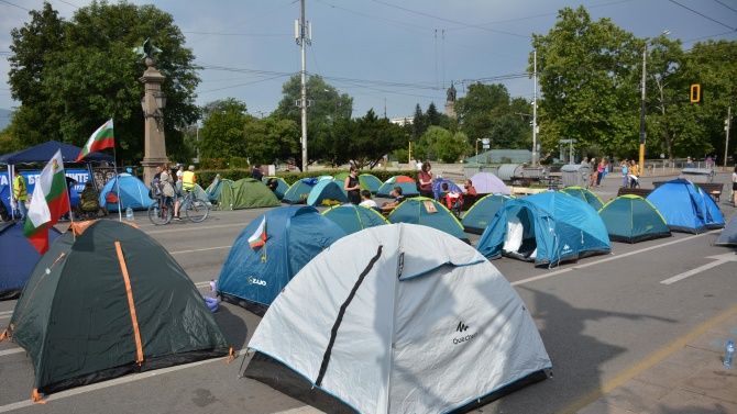 На живо: Ден 32 на протести в София