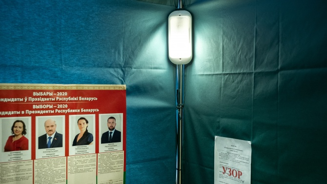 Действащият президент на Беларус побеждава на състоялите се днес избори