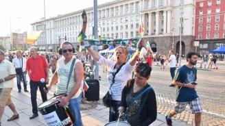 Пореден антиправителствен протест в София, блокадите остават