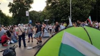 Ден 28 от протестите в София