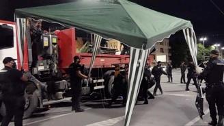Вижте акцията по премахване на палатковите лагери в София