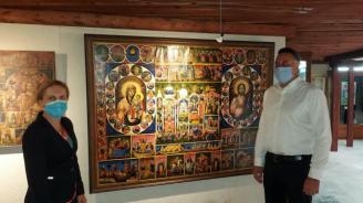 Марияна Николова посети Аладжа манастир край Варна