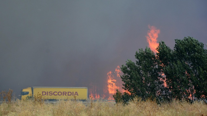 Над 120 пожара са гасени през изминалото денонощие