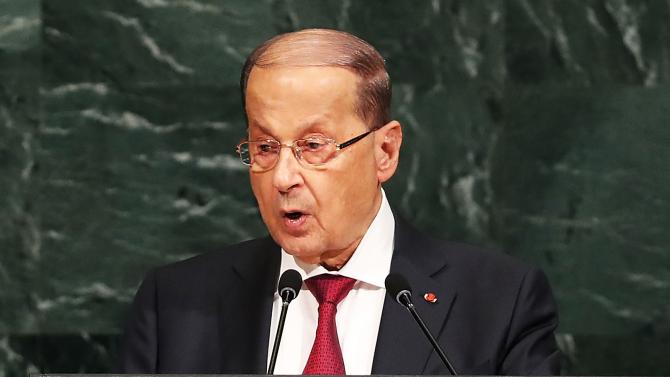 Ливанският президент прие оставката на правителството