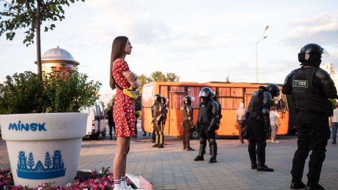 Вече трети ден в Минск няма мобилен интернет
