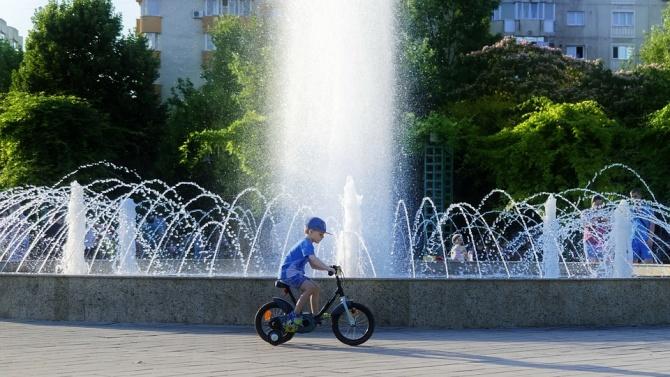 Община Видин възстанови фонтан в крайдунавския парк