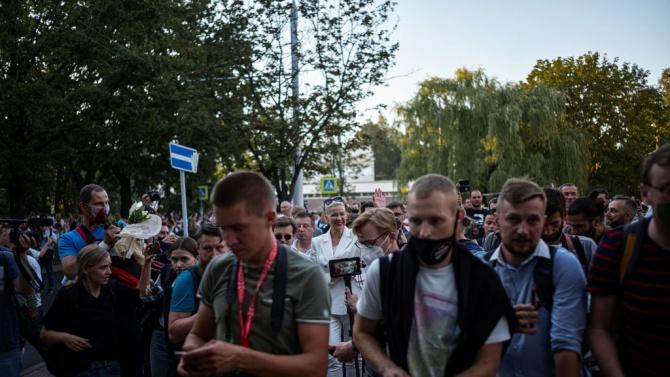 За трета поредна нощ Беларус беше обхванат от протести срещу