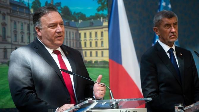 САЩ: Руското участие в стратегически проекти заплашва независимостта на Чехия