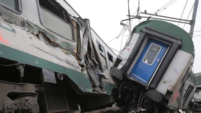 Трима души са загинали при влаковата катастрофа тази сутрин в