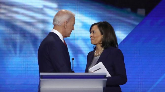 Първа изява на Джо Байдън и Камала Харис като кандидати за президент и вицепрезидент на САЩ