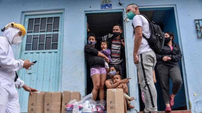 Бразилското правителство изпрати вчера хуманитарна мисия с шест тона хранителни