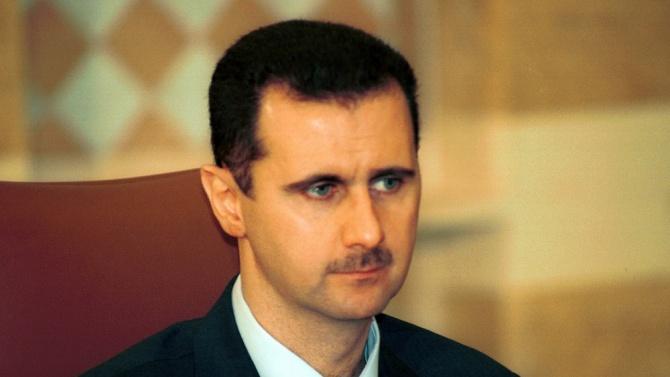 Башар Асад припадна в парламента