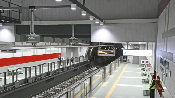 Част от третата линия на метрото стартира до края на