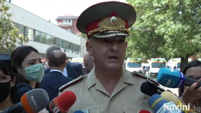 Началникът на ВМА и ръководител на Националния оперативен щаб генерал-майор