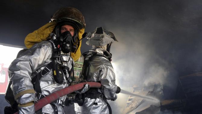 Огнеборци са гасили пожар в сградата на кметството в село