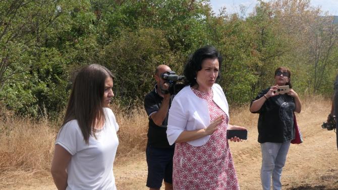 Земеделците от Хасковско с пострадали от пожарите стопанства получават извънредно 400 000 лева