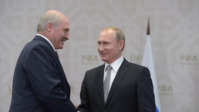 Президентите на Русия и Беларус Владимир Путин Владимир Путин -