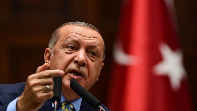 Ердоган: Турция няма да отстъпи в спора с Гърция