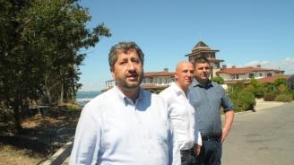 Скандално видео разкрива как докладват на Христо Иванов за разговор с Маджо