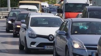 """Протестиращи предизвикаха километрично задръстване по АМ """"Тракия"""""""