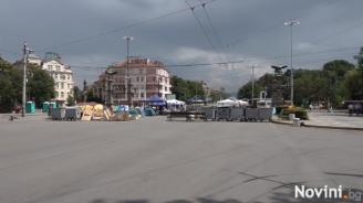 Остава блокадата на възлови кръстовища в София