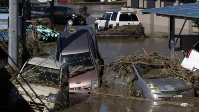 Наводнения и свлачища в Южен Китай