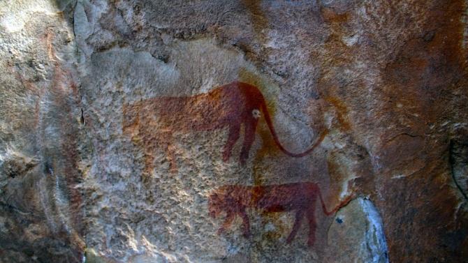 Най-древните скални рисунки са открити във Великобритания