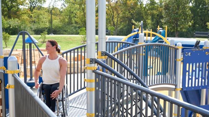 Комбинирана площадка и за деца с увреждания е открита в Перник