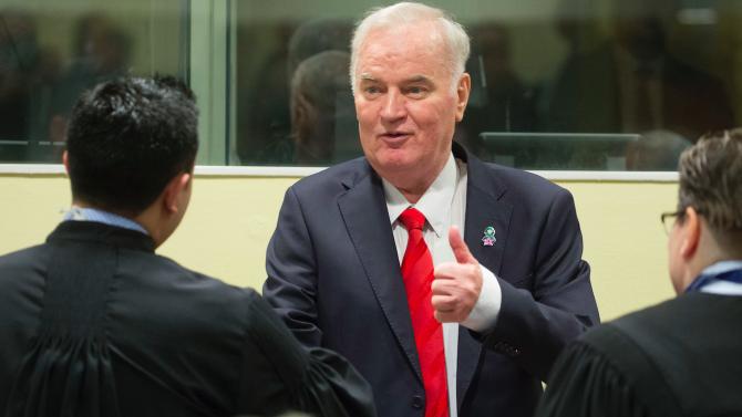 Ратко Младич ще може да говори пред съда в Хага в продължение на 10 минути