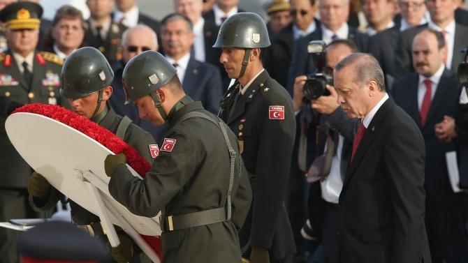 Търпението ни не е безкрайно, това е заявил турският президент