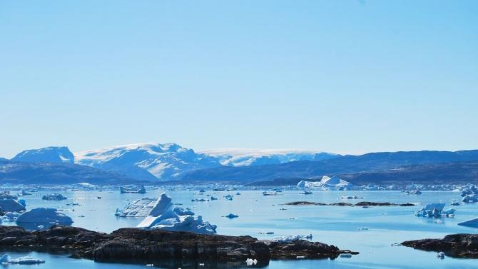 Гигантски антарктически ледници са застрашени от глобалното затопляне