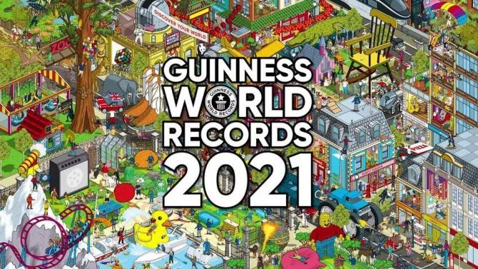 Книгата на рекордите на Гинес става на 65 години
