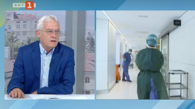 Шефът на НЗОК: До момента за лечение на COVID-болни са похарчени  4 453 000 лв.