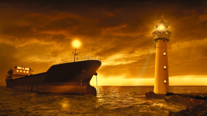 """Корабът """"Луиз Мишел"""", финансиран от британския уличен артист Банкси за"""