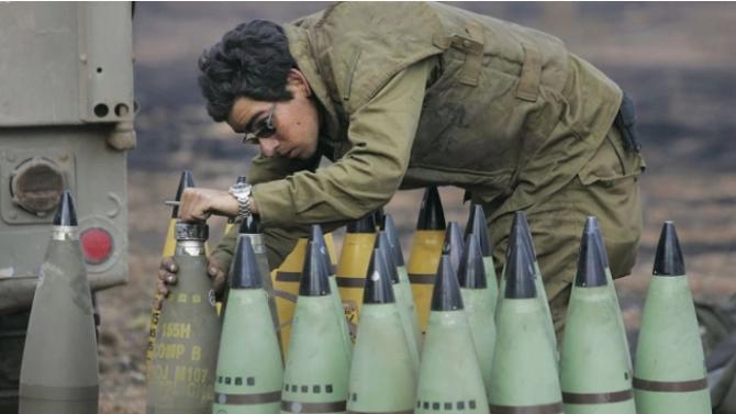 Израел е поразил военни обекти на Хамас в ивицата Газа