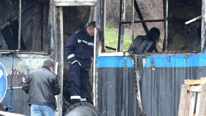 48-годишен мъж загина при пожар край Казанлък